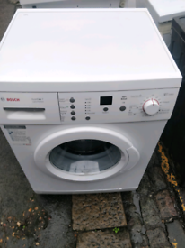 BOSCH 7KG WASHING MACHINE EXCELLENT CONDITION WITH DELIVERY AND WARRAN