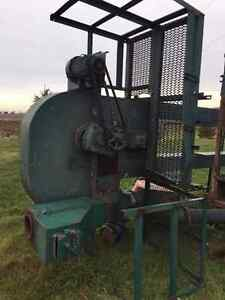 2 Complete Grain Elevator Legs, Pipes, unloading Pit & Misc