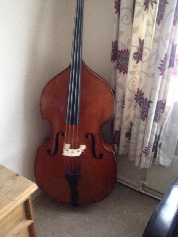 Double Bass for sale made in 1880 | in Norwich, Norfolk | Gumtree