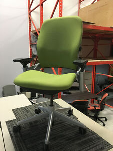 Leap V2 - Fully Loaded - Platinum Frame - Office Chair