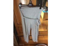 H&M maternity grey sweat/lounge pants 8-10