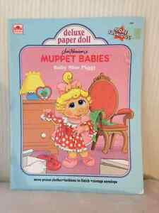 Muppet Babies Paper Dolls/Cutouts circa 1991 London Ontario image 1
