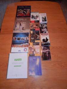 Livres Anthologie littéraire, Sociologie de la famille etc