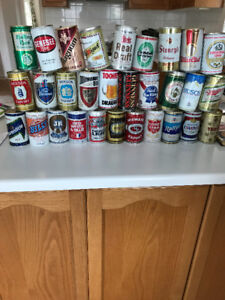 70's Beer Can Collection