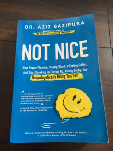 Book: Not Nice: Stop People Pleasing, Staying Silent, & Feeling