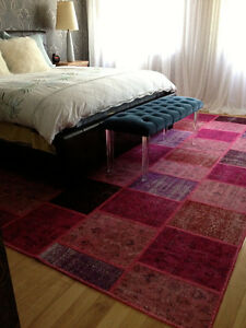 colour washed rug