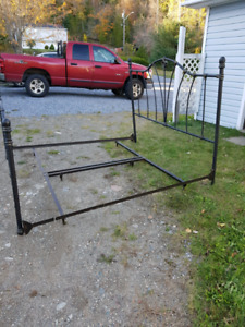 King size head, footboard and frame