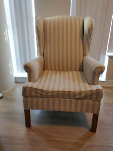 wingback chairs x2