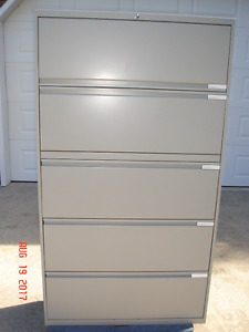 4 AND 5 DRAWER LATERAL FILE CABINETS