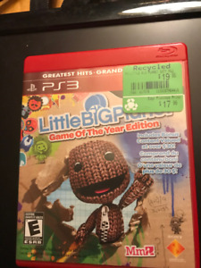 PS3 Game - Little Big Planet