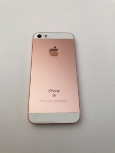 IPHONE SE 32 GBS- ROSE GOLD-$300- Comes with 2 chargers