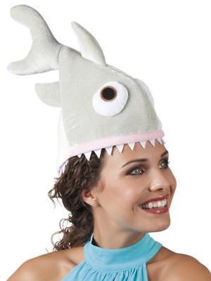 Hai Raubfisch Fisch Mütze Kappe Hut Kleid Kostüm Overall Weste Haimütze - Hai Hut Kostüm