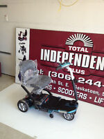 *TOTAL RIDER S19 FOLDING SCOOTER. power chair, wheelchair*