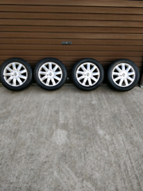"""Renault Mégane 16"""" Alloy Rims and tyres"""