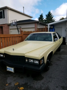 1977 CADDY COUPE DEVILLE