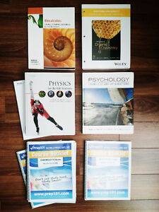 UWO SECOND YEAR SCIENCE FULL PACKAGE + TEXTBOOKS + MORE