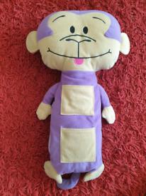 Kids Monkey Car Seat Belt Buddy