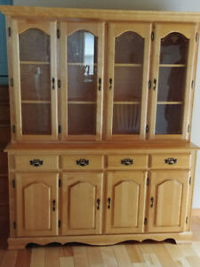 Moving Sale! Beautiful Birch China Cabinet