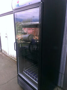 REFRIGERATION COMMERCIAL GLASS DOOR COOLER