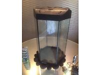 Tank Fish Love Fish Prism 30 Litre Tank nearly new including accessories