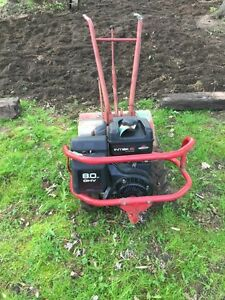 Renting out Rear Troy Built Rototiller