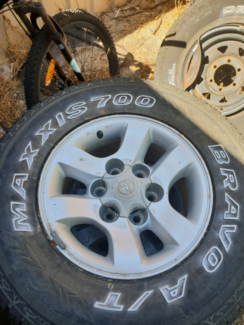Hilux rims and tryes Heathridge Joondalup Area Preview