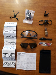 $75 obo - ESS Protective Eye Glasses and Accessories