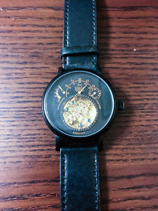 Xeric Xeriscope Automatic in all-black with black leather band Kitchener / Waterloo Kitchener Area image 2