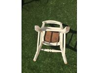 Chabby chic small chair.