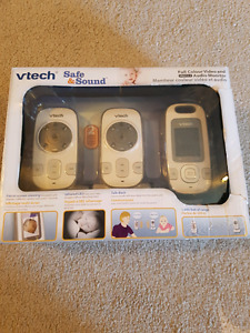 VTech VM312-2 Safe and Sound Video Baby Monitor with Night Visio