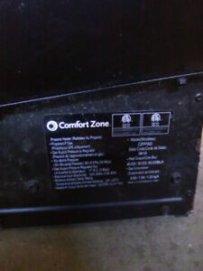 Comfort zone propane construction heater