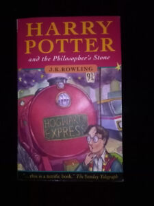Harry Potter and the Philosopher's Stone LIKE NEW
