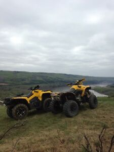 2014 Canam outlander 1700kms