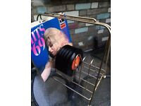 Vintage Record storage Rack - rare