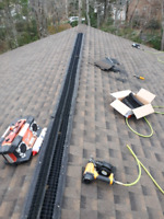 Professional roofer-shingler reroofs and repairs