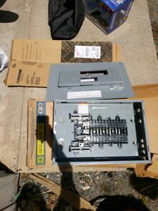 Brand new 100 amp 3 phase load center