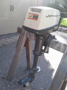 4 HP JOHNSON OUTBOARD MOTOR
