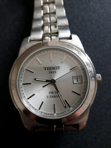 TISSOT Titanium watch