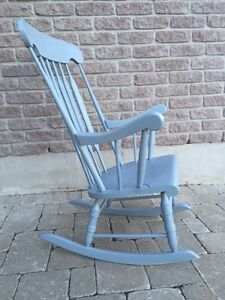 Wood Rocking Chair - Light Grey Kingston Kingston Area image 2