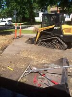 Skid steer services / lvling / spreading / clean up