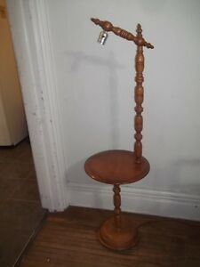 Accent Table With Lamp