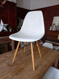 4 Eifel style designer dining chairs