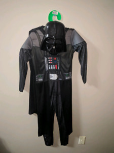 Darth vader costume size 10 to 12