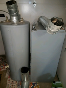 fournaise chaffeau mazout - oil furnace and water heater REDUCED