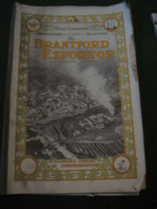 1877-1927 Semi-Centennial Edition--Brantford Expositor