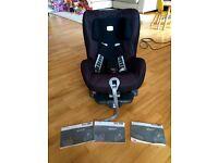 Britax Romer Safefix plus isofix car seat