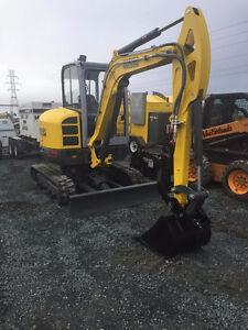 Excavator - 4 Ton Mini EZ38
