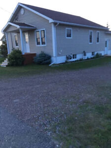 Country living 2 bdrm house with heated garage for rent