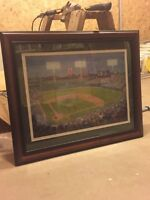 Fenway Park painting