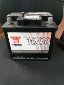 Car Yuasa battery ( clio fiesta corsa etc)